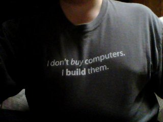 Owning this shirt helps as well.