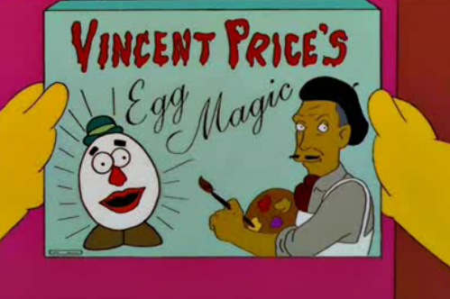 Vincent Price's Egg Magic